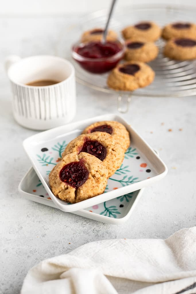 easy thumbprint cookie
