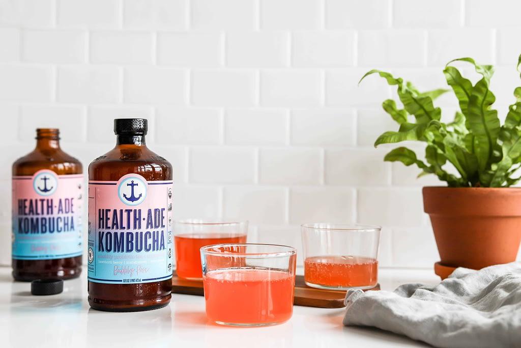 Kombucha Benefits - Bubbly Rose Health-Ade