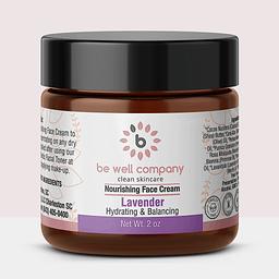 clean skincare routine nourishing face cream