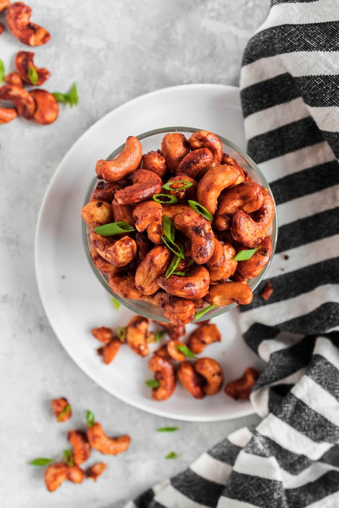 Easy Appetizers: Thai Peanut Cashews