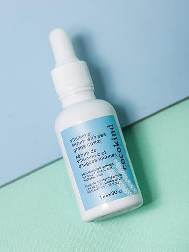 clean skincare routine, vitamin c serum