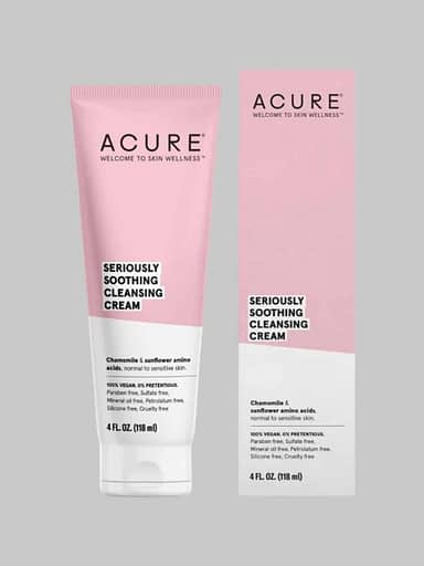 acure cleansing cream