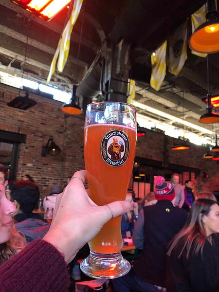 New York Travel Guide - Beer from Standard Biergarten